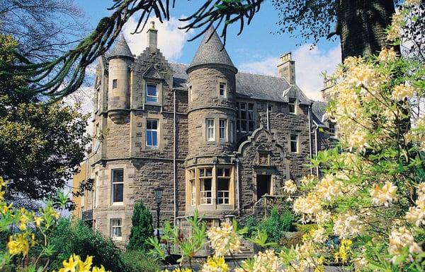 Knock Castle Spa Scotland