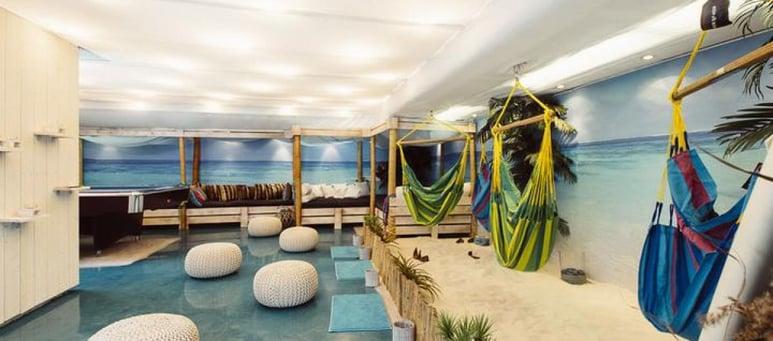 white sands lounge kokoustila Helsingin keskusta