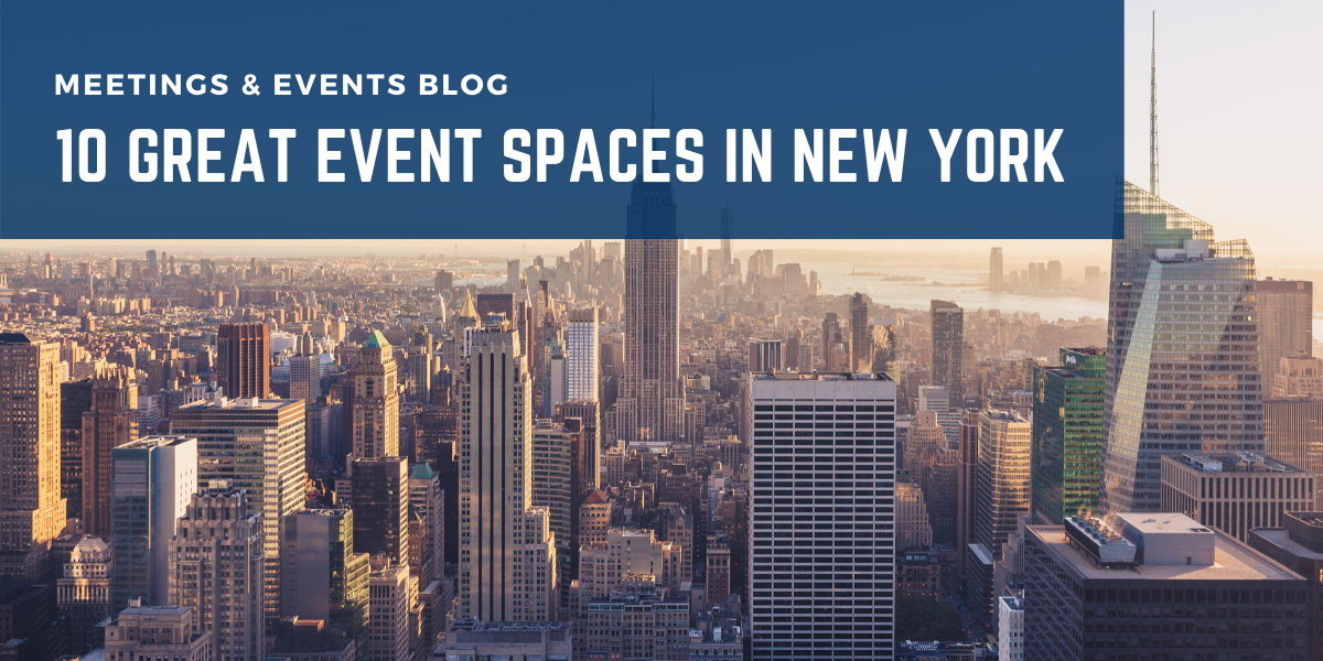 10 Great Event Spaces in New York