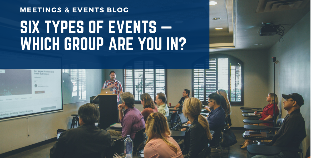 6 types of events