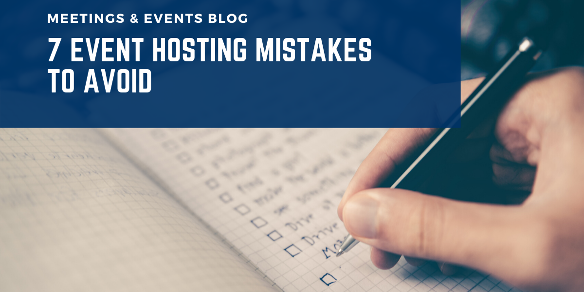 7 event mistakes to avoid