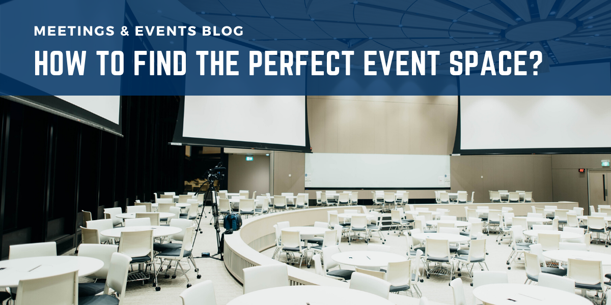 How to find the perfect event space?