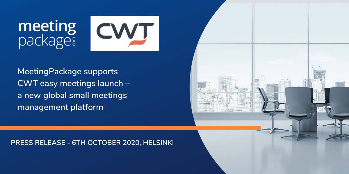 MeetingPackage supports CWT easy meetings launch – a new global small meetings management platform