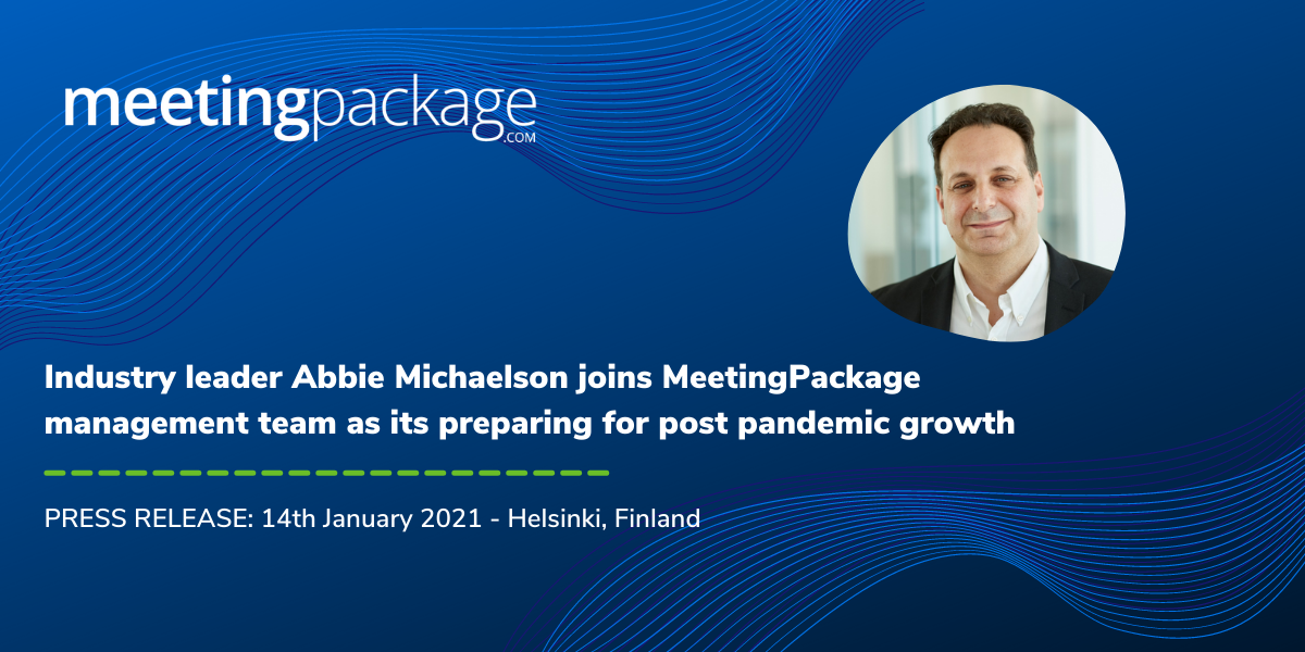 Industry leader Abbie Michaelson joins MeetingPackage management team as its preparing for post pandemic growth