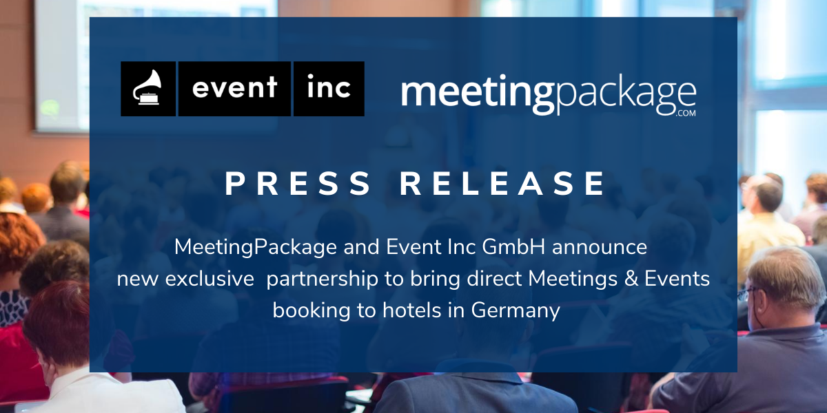 Press Release - Event Inc and MeetingPackage strategic partnership