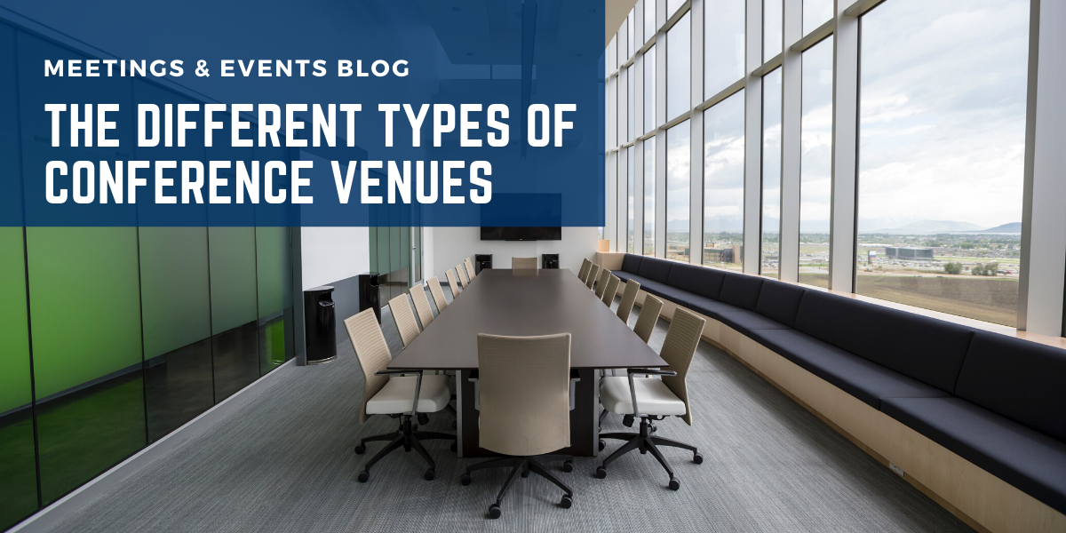 The Different Types of Conference Venues