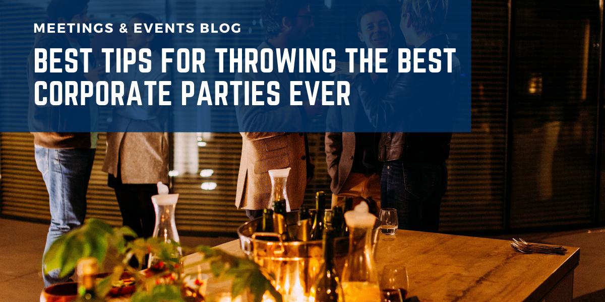 corporate parties blog